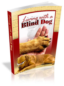 Living With a Blind Dog Book Cover